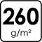 260 g