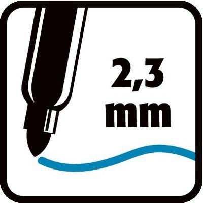 2,3 mm