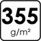 355 g