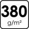 380 g