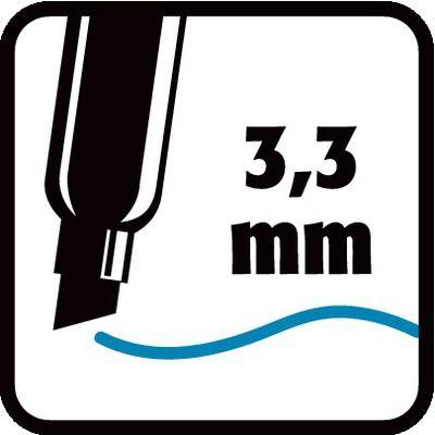 3,3 mm