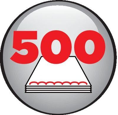 500 feuilles