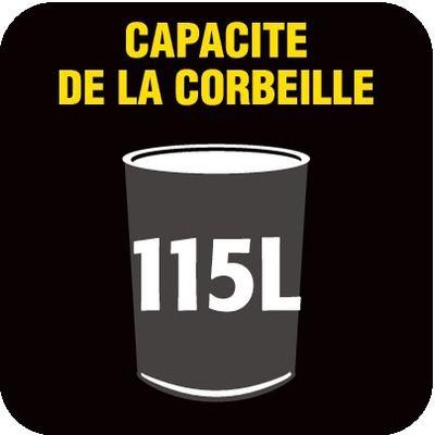 115 litres