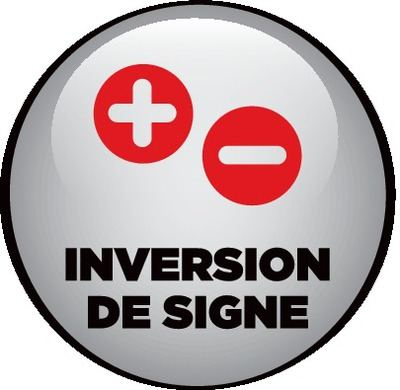 Inversion signe
