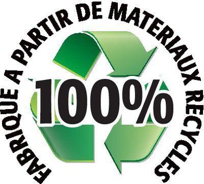 Recyclé 100%