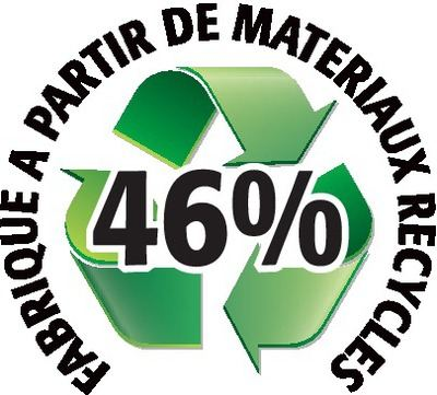 Recyclé 46%