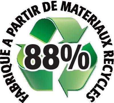 Recyclé 88%