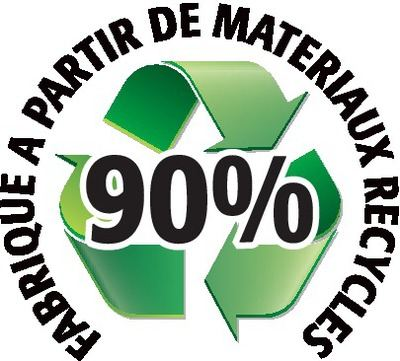 Recyclé 90%