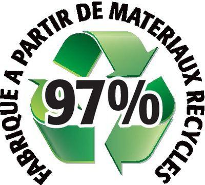 Recyclé 97%